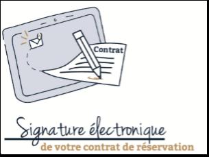 signature électronique achat immobilier neuf